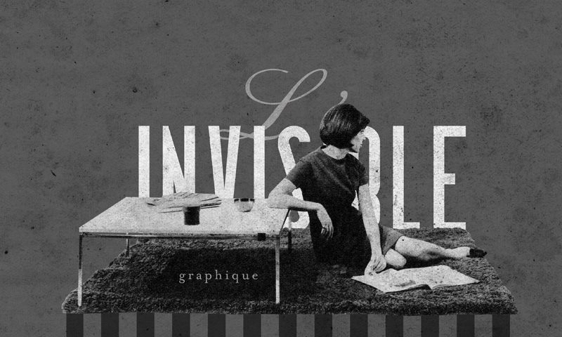 INVISIBLE magazine graphique : minus seven